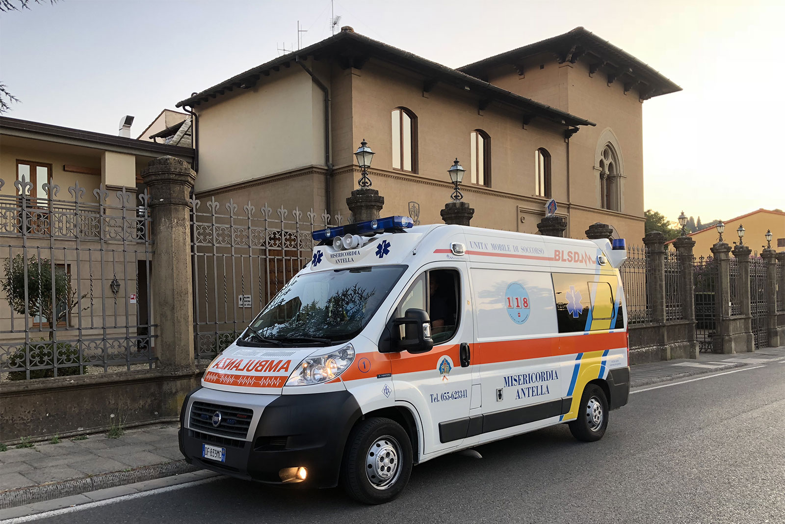 Ambulanza Misericordia Antella