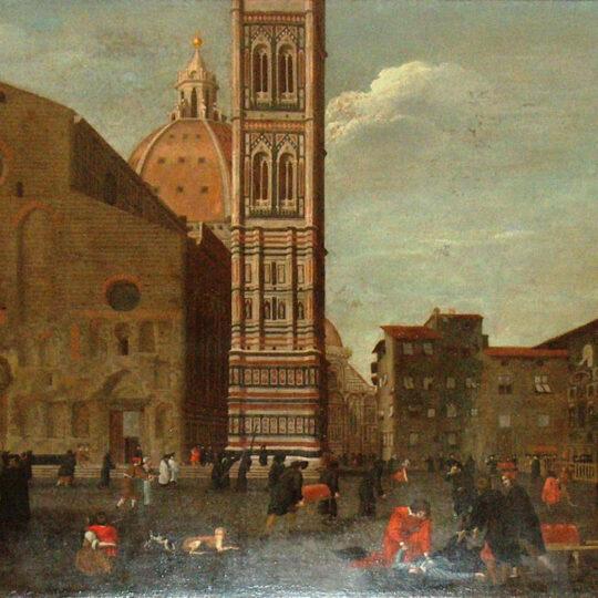 Quadro della peste a Firenze nel 1630