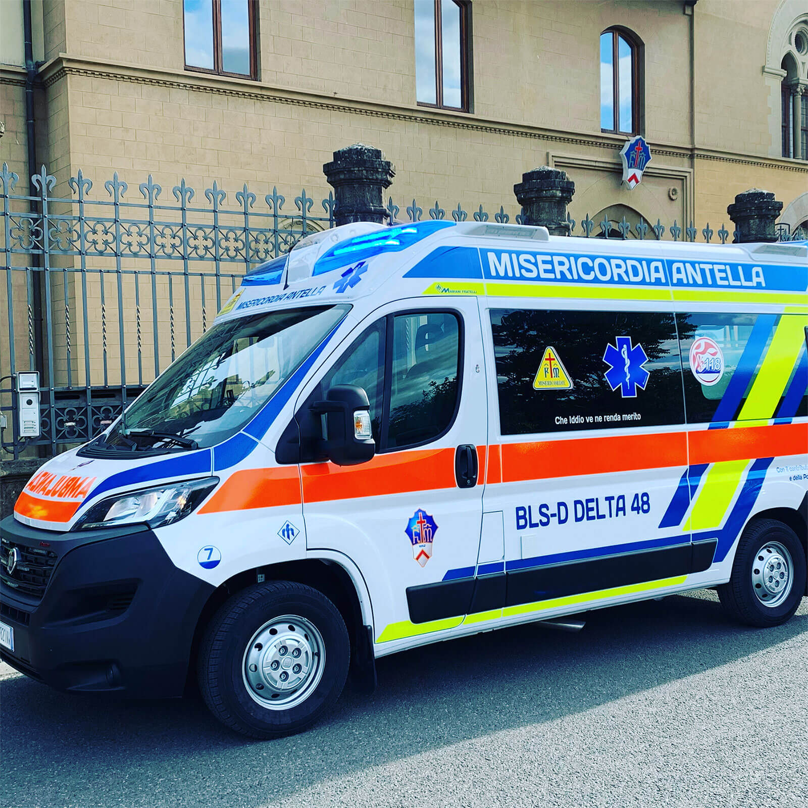 Ambulanza Misericordia Antella