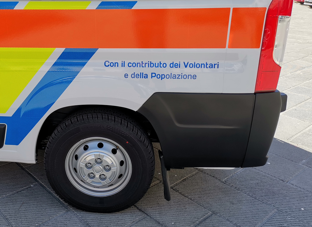 Nuova ambulanza Misericordia Antella