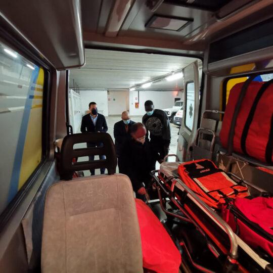 Ambulanza per Senegal Babacar