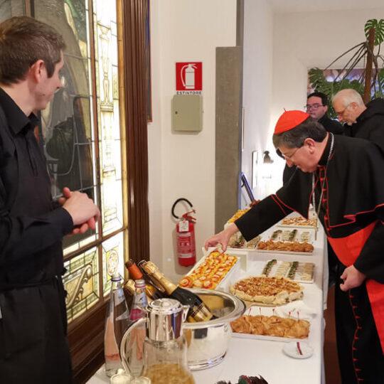 Cardinale Betori in visita Misericordia 2020