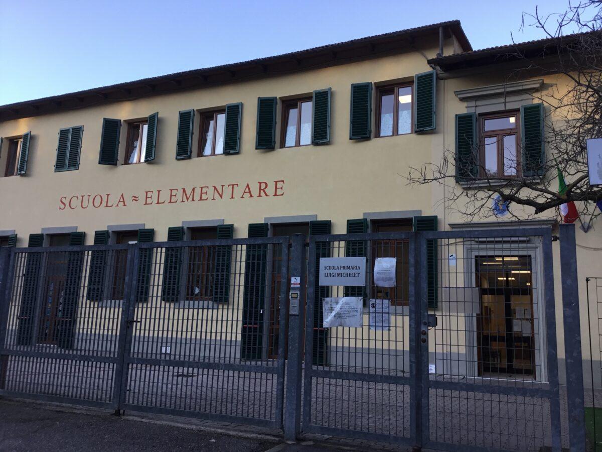 3 - Tamponi rapidi covid 19 scuola elementare da parte Misericordia Antella - 18 gen 2021 - foto Giornalista Franco Mariani (1)