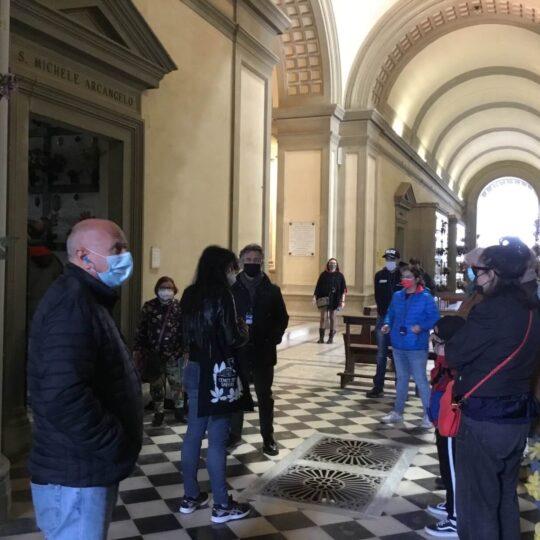 Visita Guidata 2 maggio 2021 Cimitero Antella - Foto Giornalista Franco Mariani