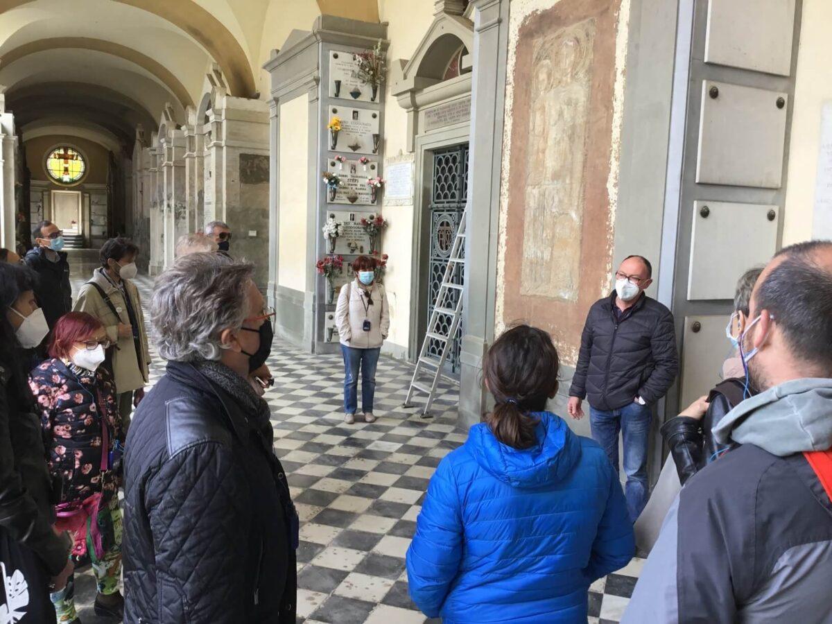 Visita Guidata 2 maggio 2021 Cimitero Antella - Foto Giornalista Franco Mariani (35)
